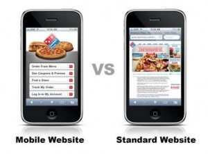 mobile-vs-standard-website